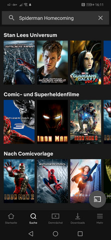 Spiderman Gucken