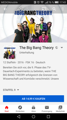 The Big Bang Theory Staffel 9 Folge 13 Deutsch