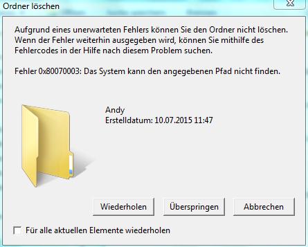 Wie soll ich vorgehen? - (Computer, Windows 7, Fehlermeldung)