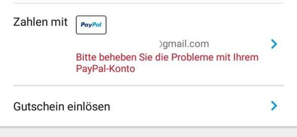 Warum Kann Ich Mit Paypal Nicht Zahlen
