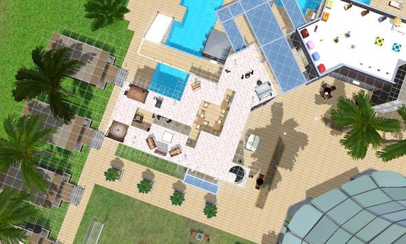 warum kann ich da nicht weiterbauen? - (Sims 3, Inselparadies)