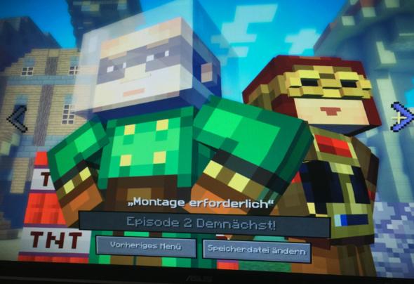Mein gekauftes Paket - (Minecraft, telltale-games, Minecraft Storymode)