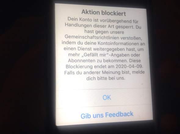 Instagram wie sehe ich wer mich blockiert