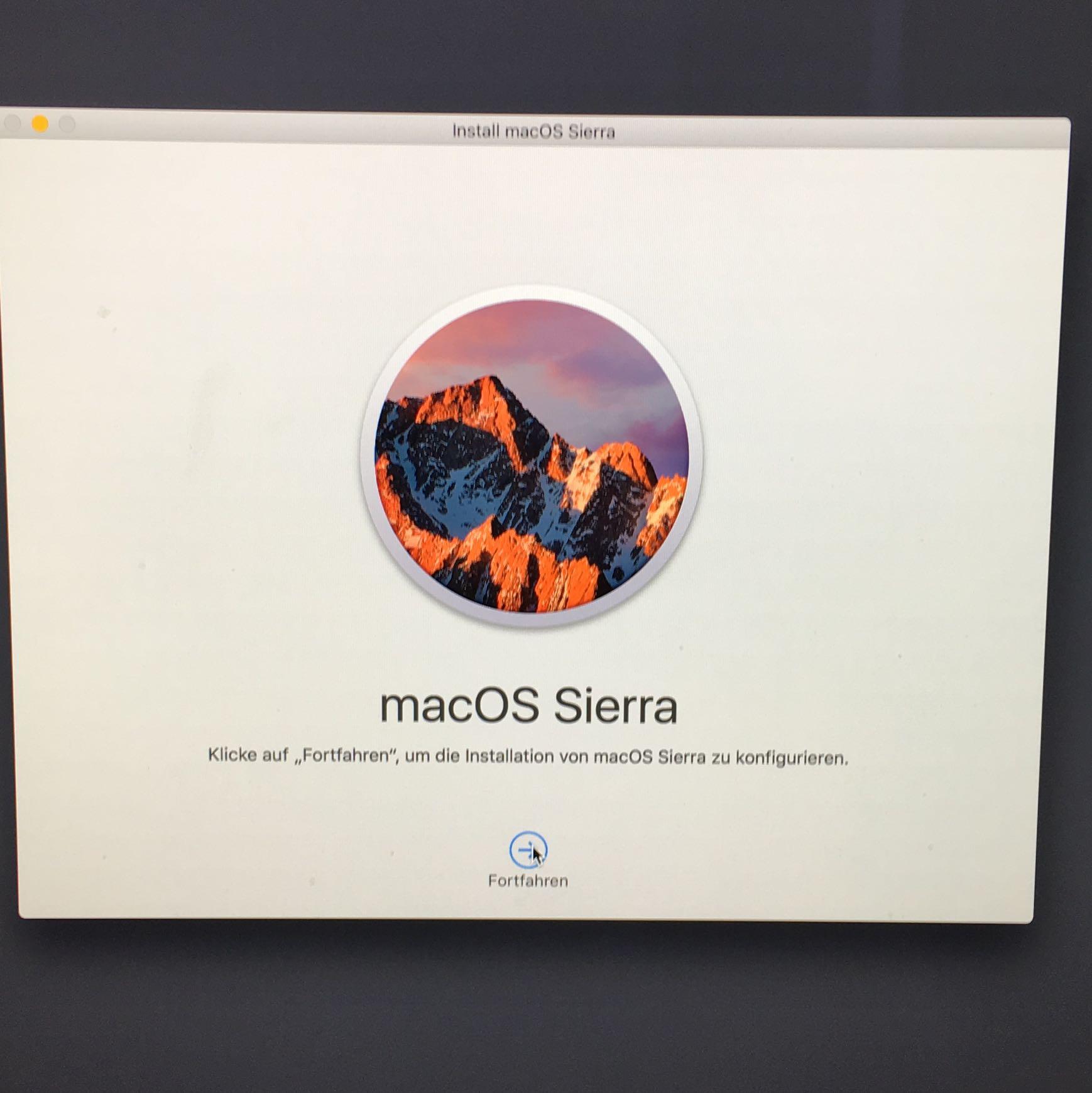 Mac System Neu Installieren