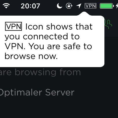 VPN-Aktiviert  - (Computer, PC, Internet)