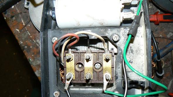 Klemmbrett - (elektromotor, Wechselstrommotor)