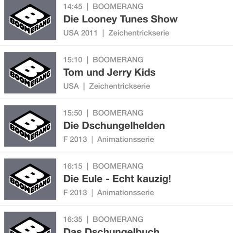 Boomerang  - (Fernsehen, Schrott)