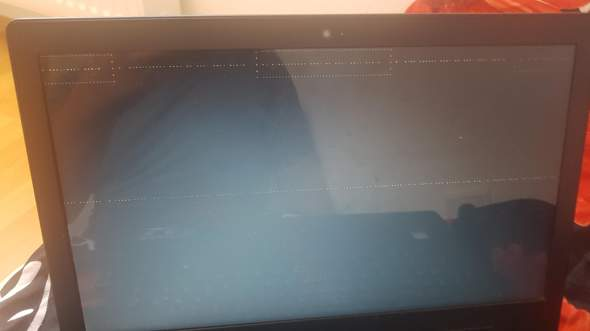 Warum kommt dieser Bildschirm?