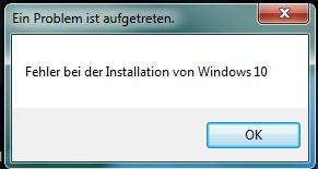 So sieht das bei mir aus - (Windows 7, Windows 10, Upgrade Probleme)
