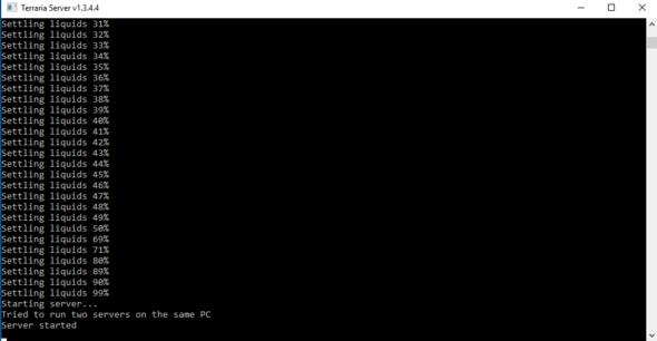 Fehler beim Server - (Server, Terraria)