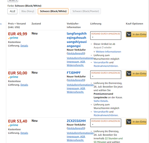 Amazon lastschrift abgelehnt