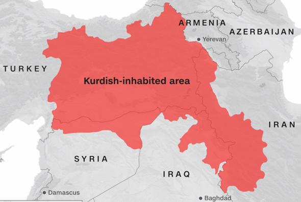 Warum lehnt die Türkei einen kurdischen Staat ab, unterstützt aber zugleich eine palästinensischen Staat?