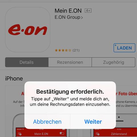 Screenshot - (Apple, Store, Zahlungsmethode)