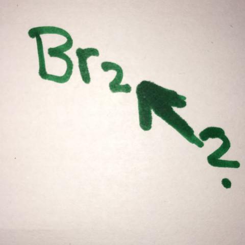 Brom mit dieser 2 - (Chemie, halogen)