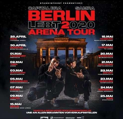 Warum nicht in Saarbrücken (capital bra Konzert)?