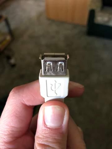 Warum passt dieses USB-Kabel nicht in diesen Drucker?
