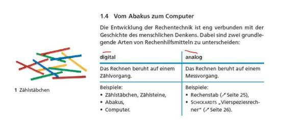 Warum sagt man hier analog, digital?