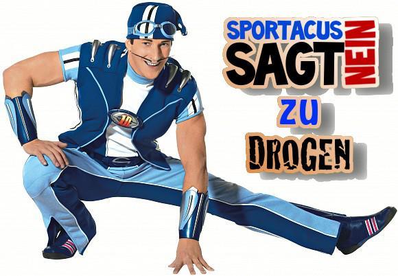 Sportacus - (Drogen, lazy town, Sportacus)