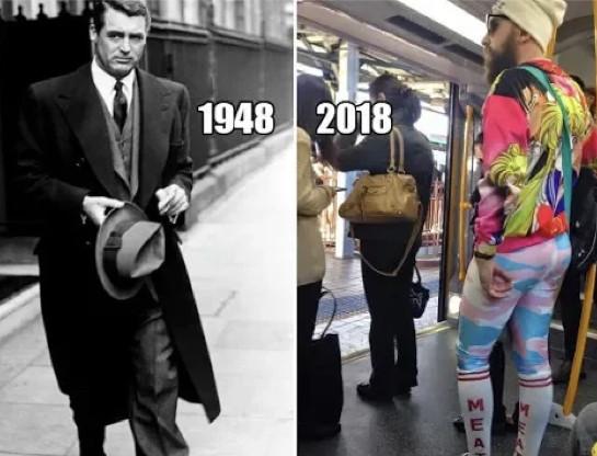 Warum sahen Männer früher männlicher aus?