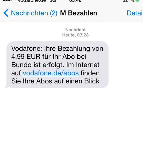 Billlld1 - (Vodafone, Verarsche)