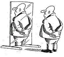 Spiegelbild? - (Physik, Licht, Spiegel)