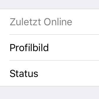 Whatsapp blockiert sieht man zuletzt online