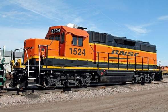 Warum sehen unsere Lokomotiven auf beiden Seiten gleich aus, die amerikanischen aber nicht?