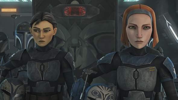 Warum sieht Bo-Katan in Rebels so jung aus?