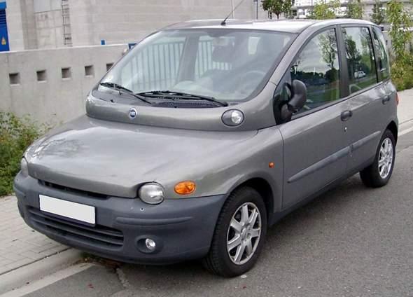 Warum sieht der Fiat Multipla so aus?