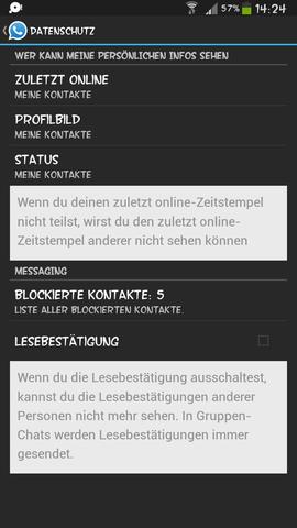Whatsapp Sehen Blockierte Kontakte Profilbild Wurde Ich Bei