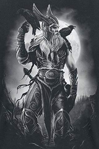 Warum sieht Odin so mächtig aus?