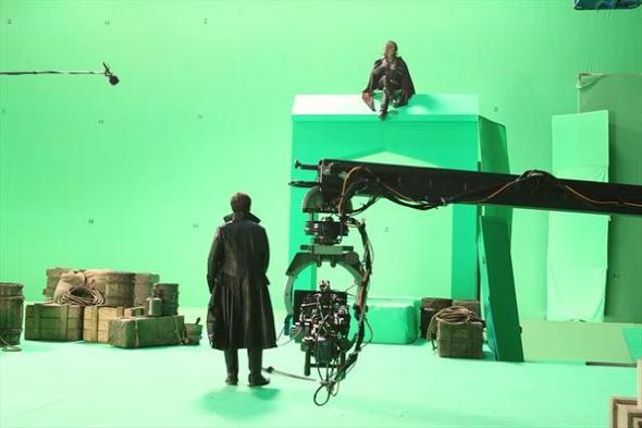 warum sind bei filmstudios die leinw nder immer gr n film bearbeiten. Black Bedroom Furniture Sets. Home Design Ideas