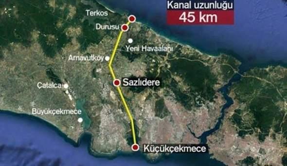 Warum sind einige gegen den Bau von Kanal Istanbul, der vorrausichtlich 2023 fertiggestellt werden soll?