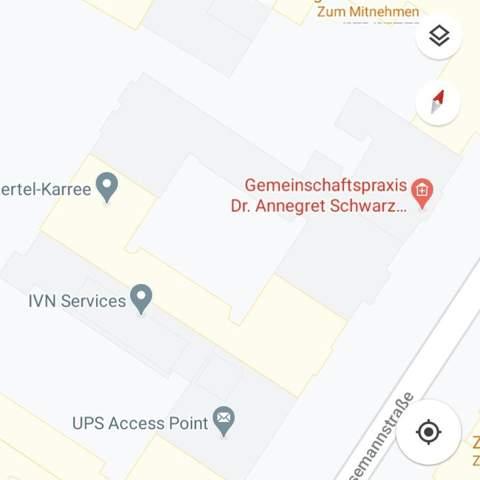 Warum sind in Google Maps manche Häuser gelb, manche grau?