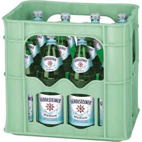 Warum sind manche Wasserflaschen grün?