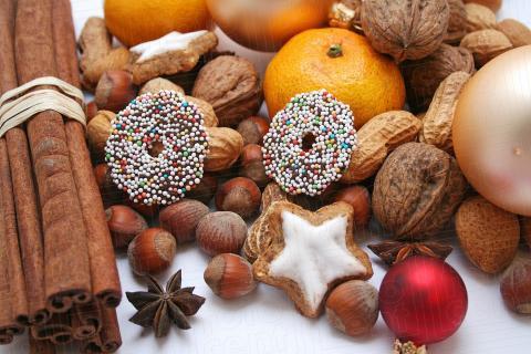warum sind mandarinen weihnachtenliche fr chte weihnachten dekoration advent. Black Bedroom Furniture Sets. Home Design Ideas