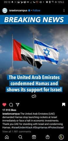 Warum solidarisieren sich die Vereinigten Arabischen Emirate wirklich mit Israel?