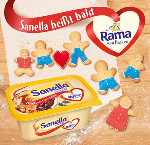 Warum soll die Margarinemarke Sanella verschwinden und zu Rama zum Backen mutieren?
