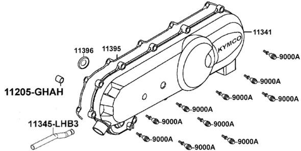 Variomatikdeckel Skitze - (Technik, Roller, KFZ)