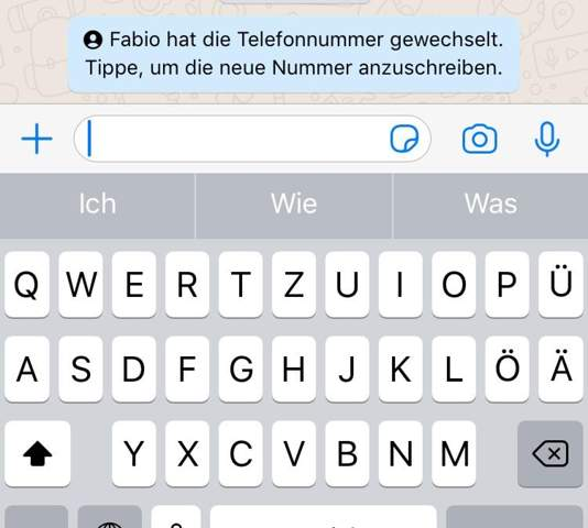 Nummer whatsapp mitteilen neue allen android allen