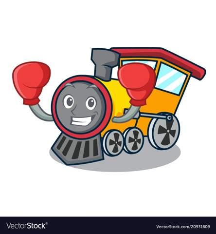 Warum trägt diese Dampflokomotive Boxhandschuhe?