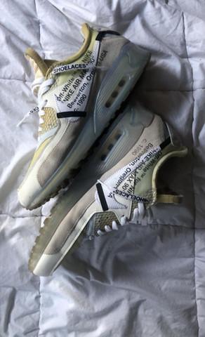 """Warum verfärben sich meine """"Off-White"""" Nikes so schnell?"""