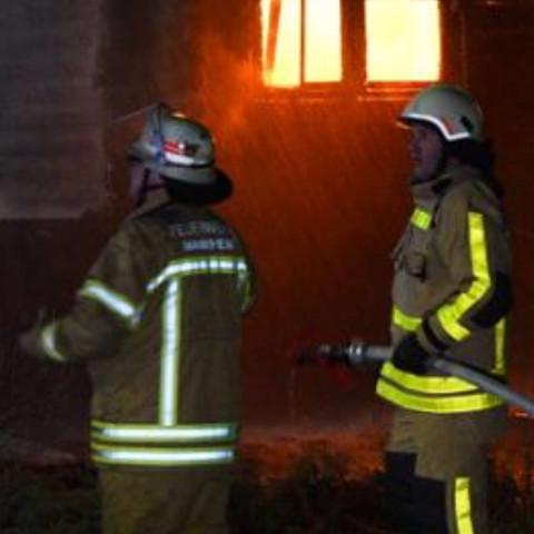 Warum war die Feuerwehr Reutlingen bei einem Brand in MANNHEIM im Einsatz?