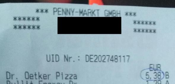 teure Pizza - (Geld, Einzelhandel, Pizza)