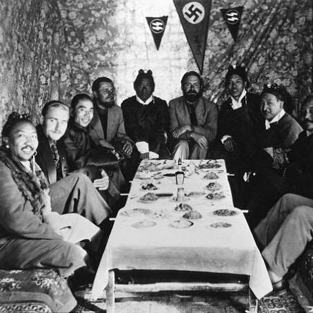 Tibet - (Geschichte, Drittes Reich, Okkultismus)