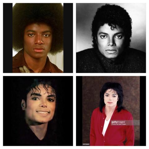 Eins - (Krankheit, schminken, Michael Jackson)