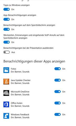 Einstellungen - (Fehler, Windows 10, benachrichtigung)