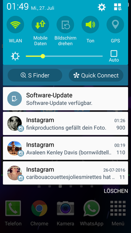 Anzeige von Android - (Handy, Smartphone, Android)