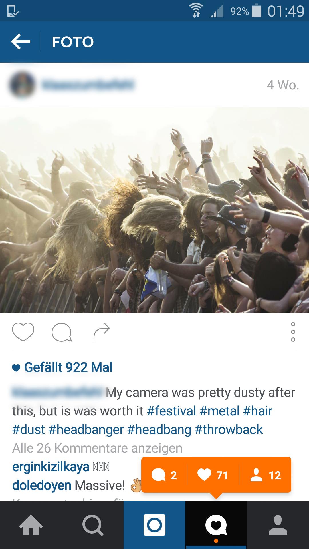 Warum werden Instagram Likes/Follower/Kommentare nicht