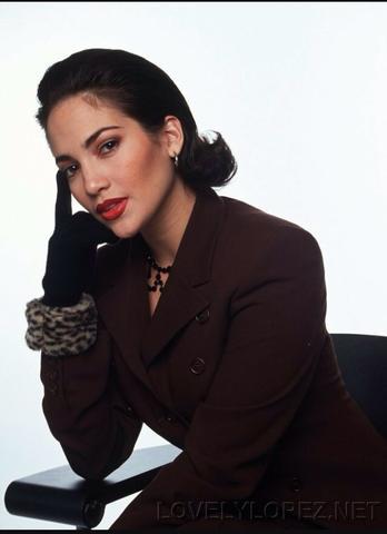 Jennifer Lopez für mich wintertyp überall steht herbsttyp - (FALSCH, Typberater)